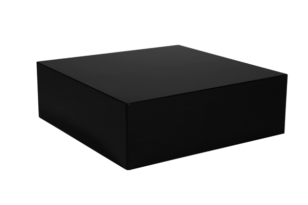 Plexi Coffee Table – Black