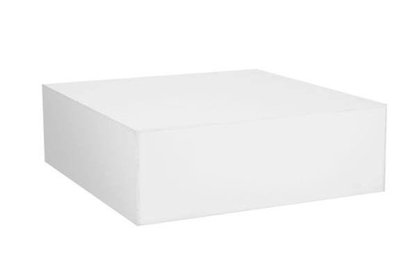 Plexi Coffee Table – White