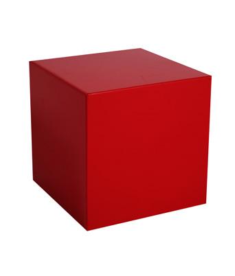 Plexi Cube – Red
