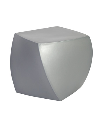 Frank Gehry Cube – Silver