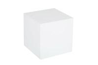 Plexi Cube – White