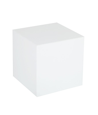 Plexi Cube Table – White