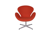 Swan Chair - Orange