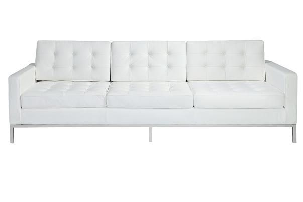 Knoll Sofa – White