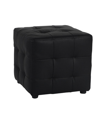 Tufted Cube – Black