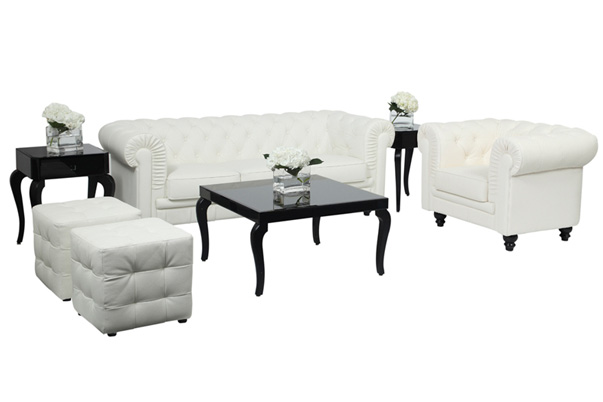 Aristocrat Lounge Grouping – White