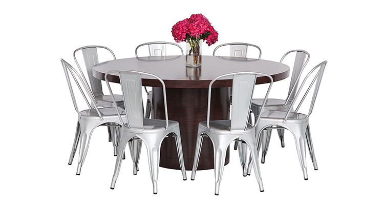 Orb Dining Grouping – Wood