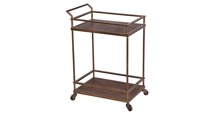 Bar Cart – Wood