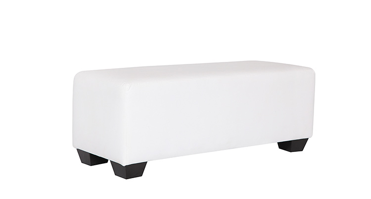 Basel Bench – White