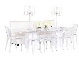 Basel Dining Grouping White