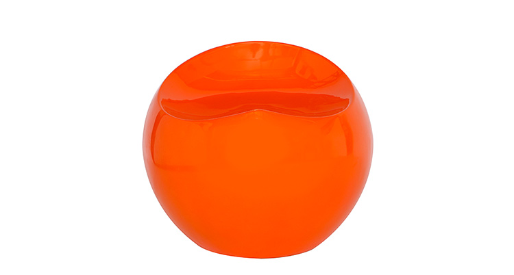 Drop Stool – Orange