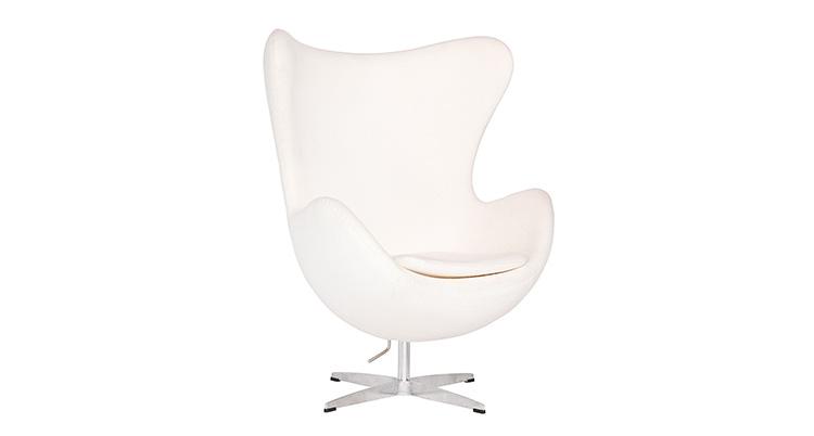 Egg Chair – White