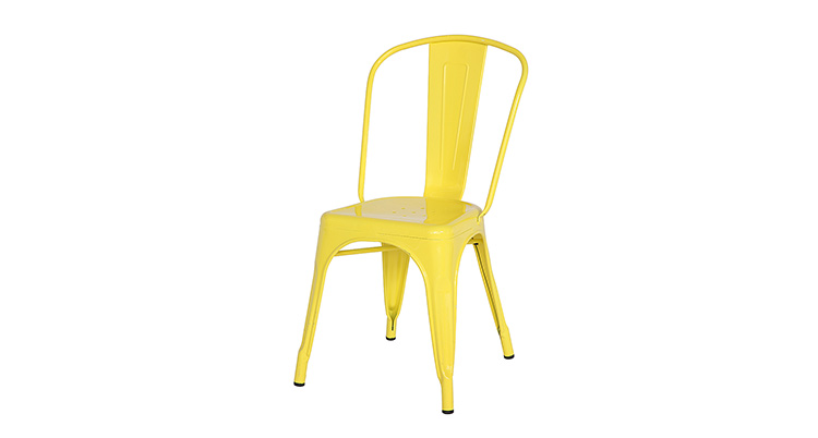 Marais Metal Chair – Yellow
