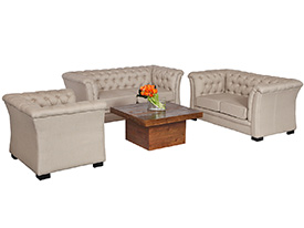 Nob Hill Lounge Grouping Beige