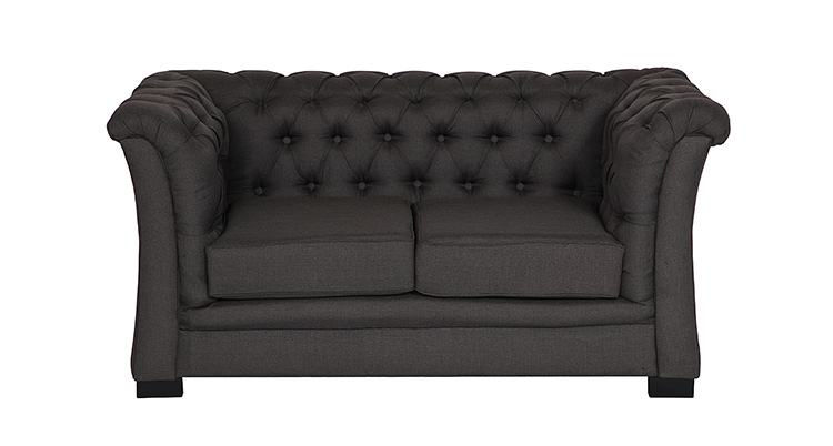 Nob Hill Loveseat – Gray