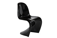 Panton Chair Black