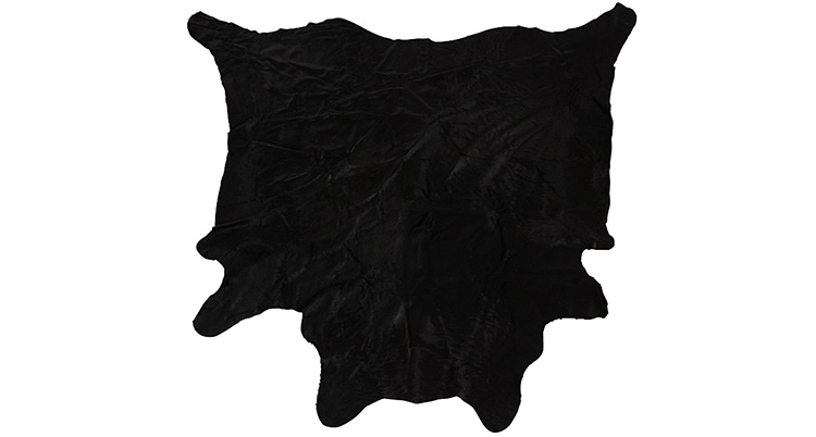 Cow Hide Rug – Black