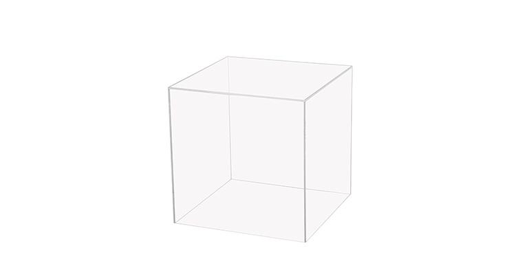 Plexi Cube – Clear