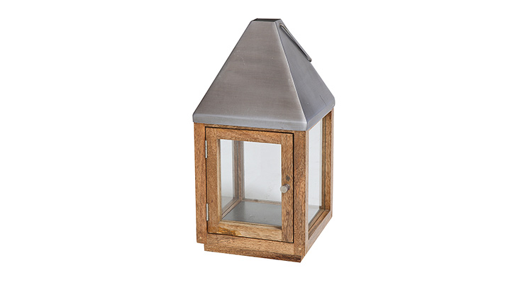 Wood Lantern – 17″