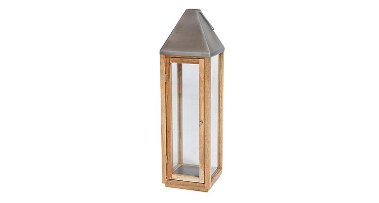 Wood Lantern – 29″