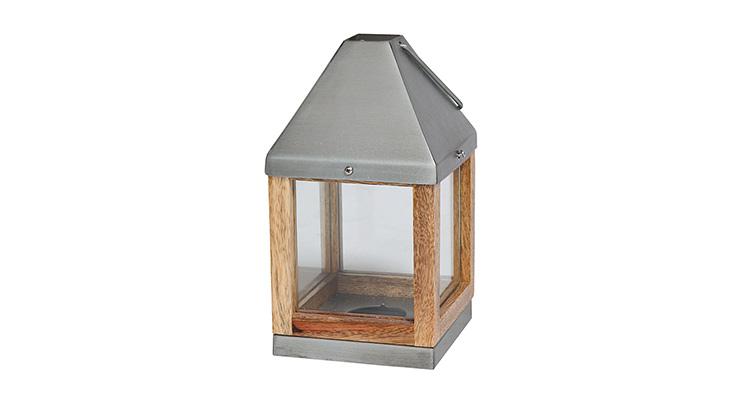 Wood Lantern – 9″