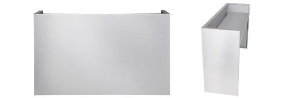 Stainless Steel DJ Booth