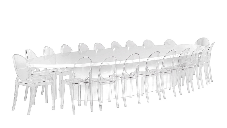 Oval Dining Grouping