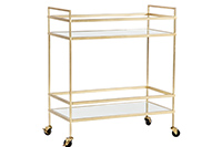 Bar Cart Gold