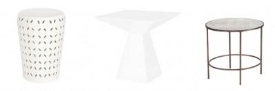 Lace Pyramid Fox Tables