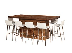 Timber High Dining Grouping