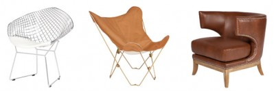 Wire Butterfly Eximo Chairs