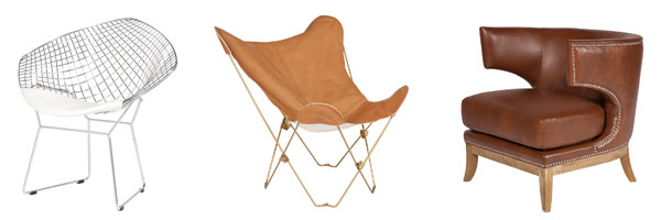 Wire Butterfly Eximo Chair