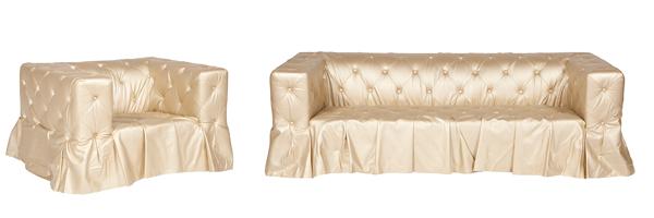 5.Champagne Chair Sofa