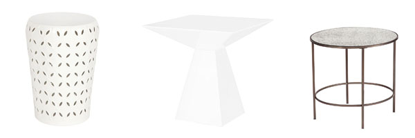 Lace Pyramid Fox End Table