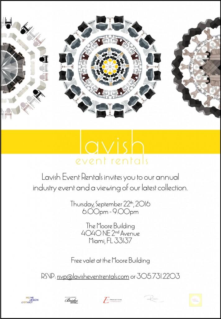 2016 Lavish Annual Industry Event
