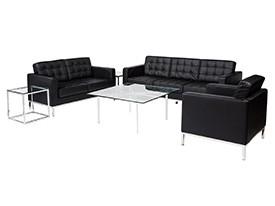 Knoll Lounge Grouping - Black