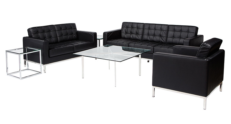 Knoll Lounge Grouping – Black