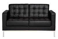Knoll Loveseat - Black