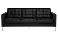 Knoll Sofa - Black