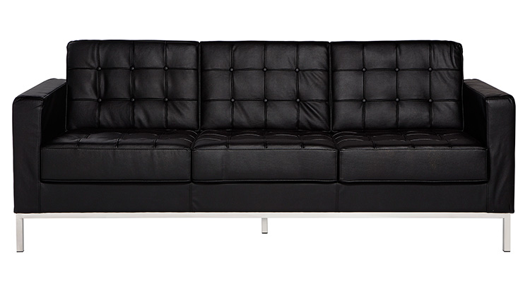 Knoll Sofa – Black