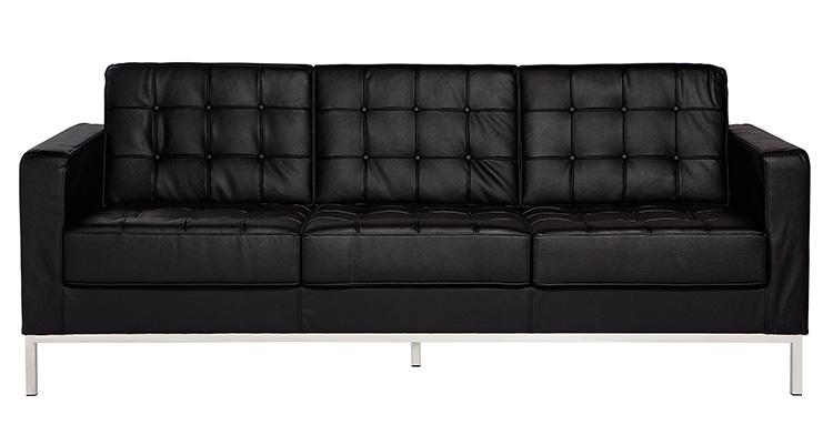 Knoll Sofa – Black