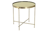 Coin End Table Gold - Product Thumb