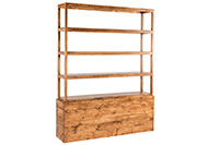 Frame Back Bar Wood