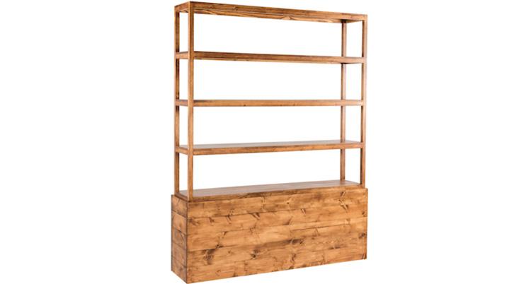 Frame Back Bar – Wood