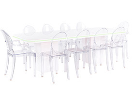 Neon Dining Grouping