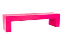 Vignelli Bench Pink