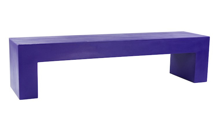Vignelli Bench – Purple