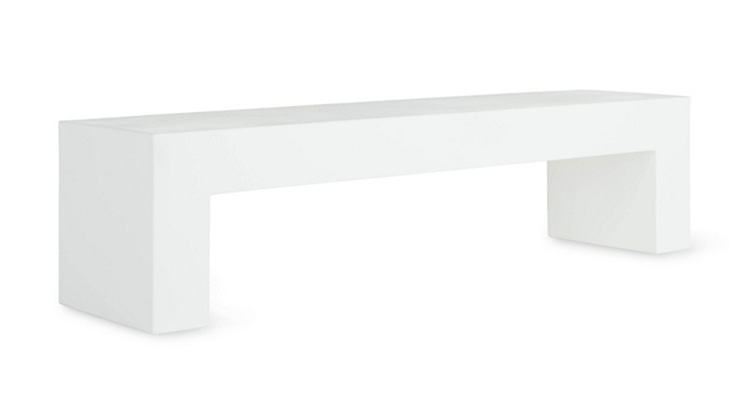 Vignelli Bench – White