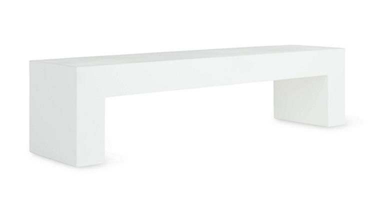 Vignelli Bench – White