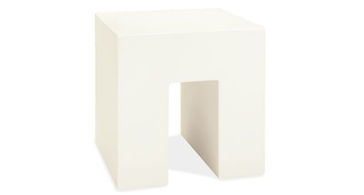 Vignelli Cube – White